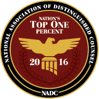 Top One Percent Badge for John E. Anding