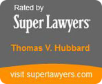 SuperLawyer Badge for Thomas V. Hubbard