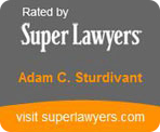 SuperLawyer Badge for Adam C. Sturdivant