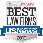 U.S. News & World Report Best Law Firm Badge for Drew Cooper & Anding