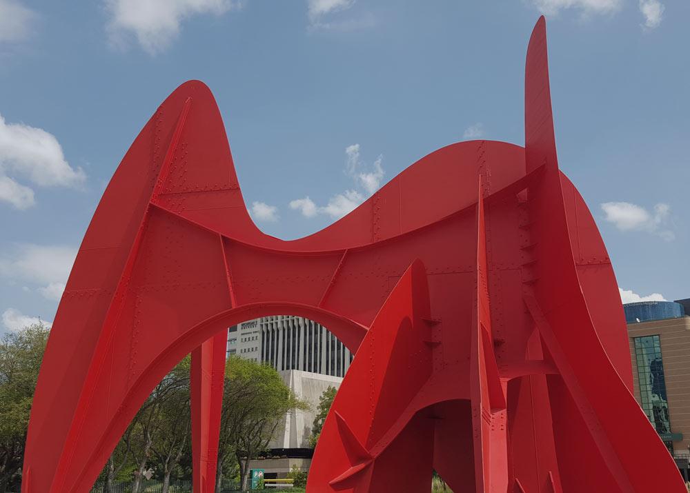 Calder Plaza in Grand Rapids, Michigan